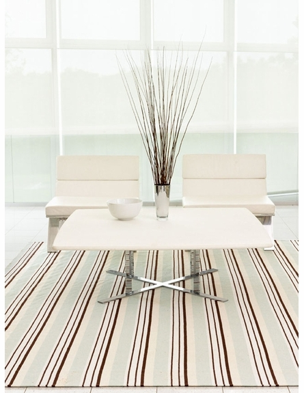 On Sale Vanilla Sky Woven Cotton Rug - 4 x 6 Feet