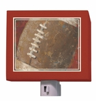 On Sale Vintage Football Nightlight