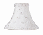 On Sale White Petal Flower Medium Lamp Shade