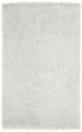 On Sale White Vivid Shag Rug - 3.6 x 5.6 Feet
