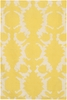 On Sale Yellow Flock Thomaspaul Rug