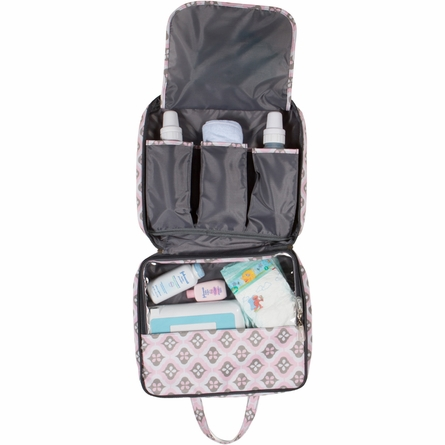 On-the-Go Kit Diaper Bag in Sweet Blush Montage