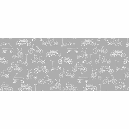 On The Go Removable Wallpaper in Grey & White