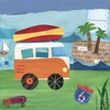 On the Road - Beach Canvas Wall Art