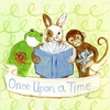 Once Upon a Time Animals Canvas Reproduction