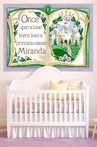 Once Upon a Time Storybook - Lavender Mural Wall Decal