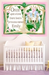 Once Upon a Time Storybook - Pink Mural Wall Decal