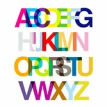 Oopsy Daisy Alphabet & Numbers Canvas Art
