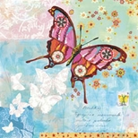 Oopsy Daisy Butterflies Canvas Art