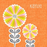 Oopsy Daisy Orange Canvas Art