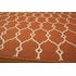 Orange Baja Lattice Rug