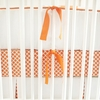 Orange Crush Crib Bumper