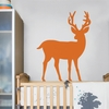 Orange Deer Wall Decal