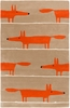Orange Fox Scion Rug