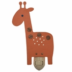 Orange Giraffe Night Light