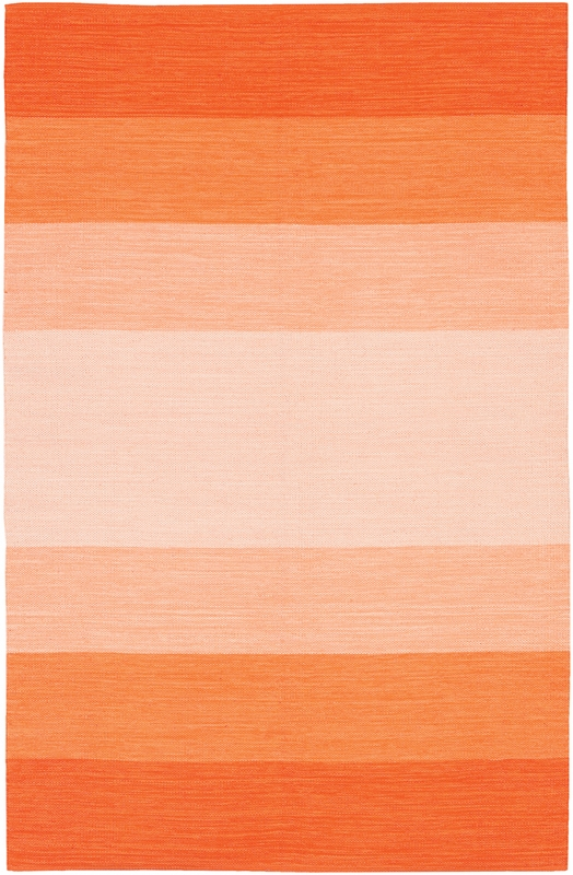 Orange Ombre India Rug by Chandra Rugs - RosenberryRooms.com