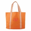 Orange Personalized Tote Bag