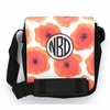 Orange Poppy Monogram Sling Bag