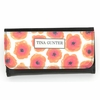 Orange Poppy Monogram Wallet