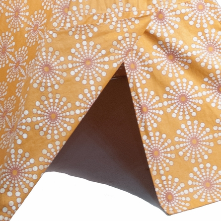 Orange Sunburst Teepee