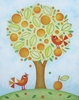 Orange Tree Canvas Wall Art