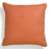 Orange Willow Basket Weave Pillow