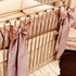 Orchid Lilac Silk Crib Bedding Set