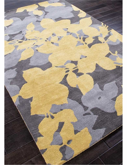 Orchid Rug in Yellow
