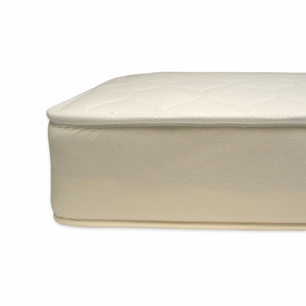 Organic Cotton 2 in 1 Ultra Quilted Crib Mattress