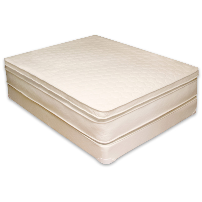 Organic Cotton 3 Inch fort Mattress Topper by Naturepedic