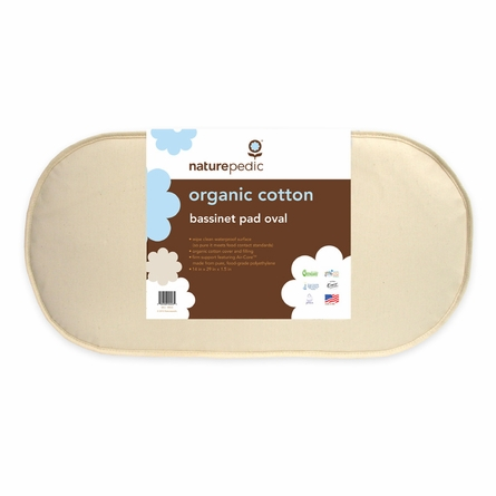 Organic Cotton Bassinet Mattress