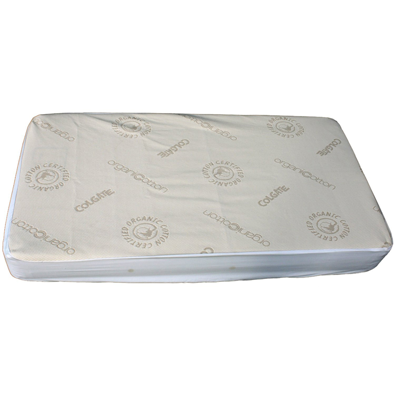 Organic Cotton Crib Fitted Mattress Cover By Colgate