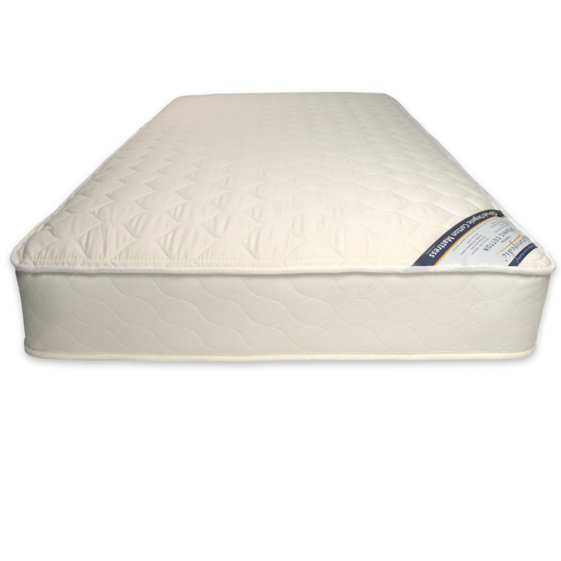 Organic Cotton Deluxe Quilted Mattress by Naturepedic