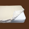 Organic Cotton Flannel Fitted Crib Mattress Protector Pad
