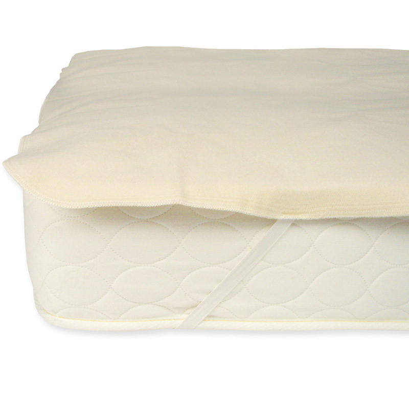 Organic Cotton Flannel Mattress Protector Pad By Naturepedic