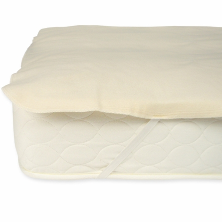 Organic Cotton Flannel Mattress Protector Pad