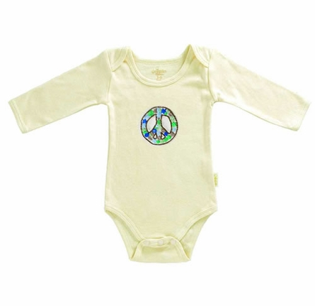 Organic Cotton Peace Blanket, Cap and Romper Set