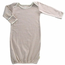 Organic Cotton Sleep Gown in Cocoa