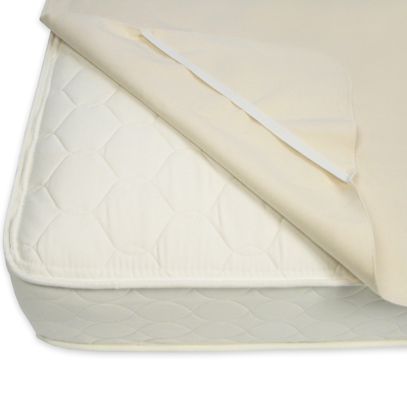 Organic Cotton Waterproof Mattress Protector Pad by