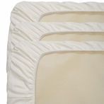 Organic Fitted Crib Sheet - 3 Pack