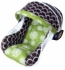 Organic Infant Car Seat Cover in Mod Bliss Green