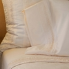 Organic Oyster Percale Fitted Sheet