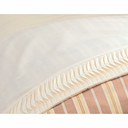 Organic Oyster Percale Flat Sheet