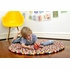 Original Multi Color Felt Ball Rug