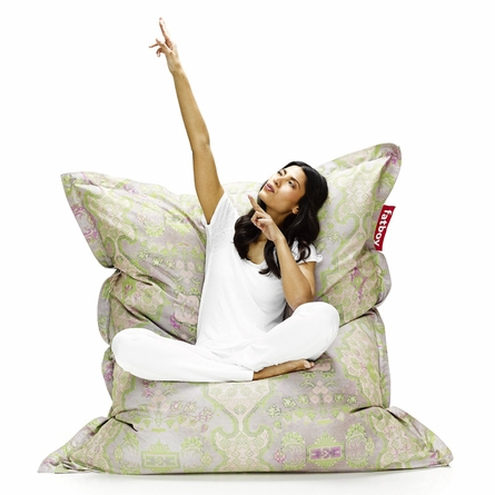 Original Special Small Beanbag In Persian Lime