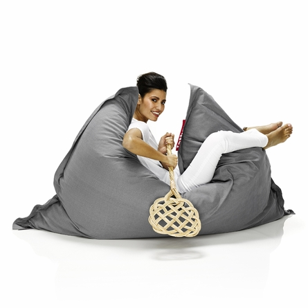 Original Stonewashed Beanbag In Grey