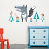 Oscar the Wolf Wall Decal