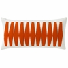 Otto Throw Pillow in Tangerine