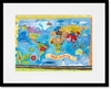 Our World Framed Art Print