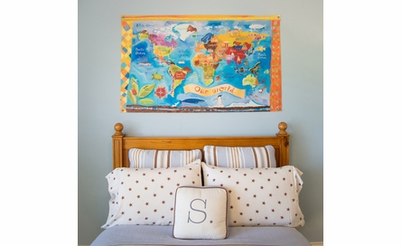Our World Canvas Wall Mural